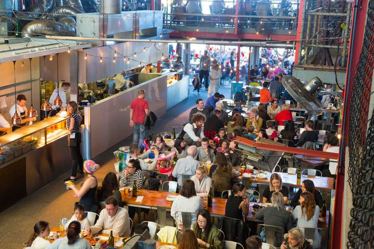 Grab a pale ale and a pizza and soak in the brewery chaos at Little Creatures Brewery in the Fishing Boat Harbour.