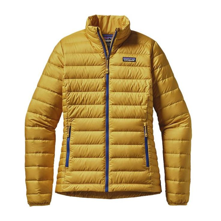 Patagonia Women\'s Down Sweater Jacket - Sulphur Yellow SULY
