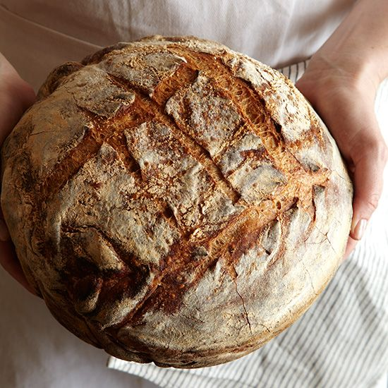 Tartine Bakery's Chad Robertson shares a simple way to make exquisitely flavorful and perfectly crusty bread without a sourdough starter.