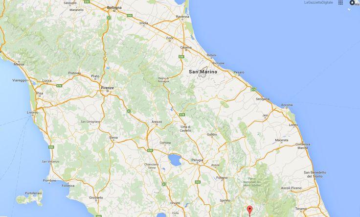 Terremoto: scosse a Perugia, Bologna, Rimini e non solo