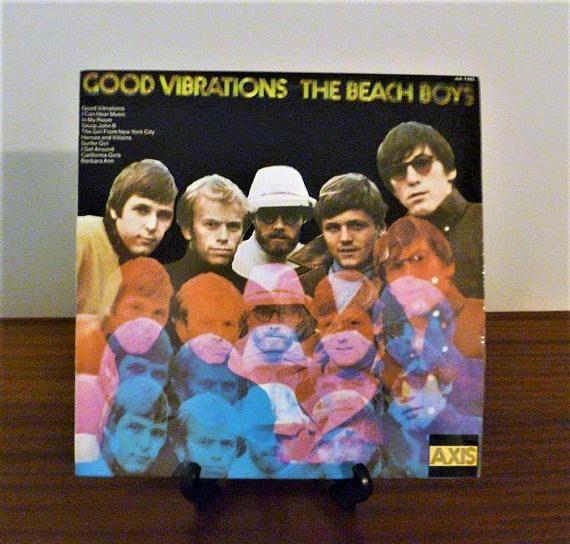 $15     Vintage 1974 The Beach Boys : Good Vibrations Vinyl LP Record Album Released by Axis Records / Retro Surf Rock Album