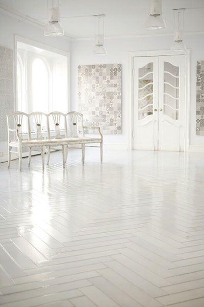 white herringbone tiles - Best 25+ White Flooring Ideas On Pinterest White Wood Floors
