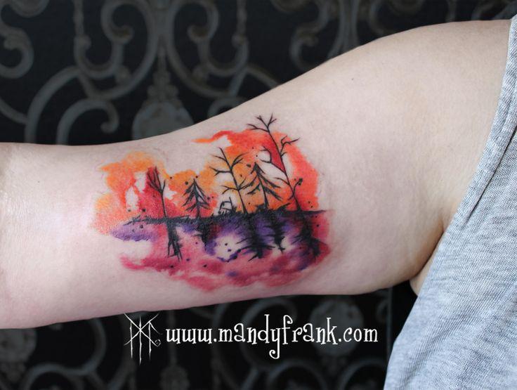 #woods #tattoo #artwork #mandyfrank #hamburg2016