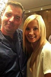 Brendan Coyle & Joanne Froggatt (Bates & Anna from 'Downton Abbey')