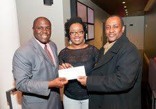 "RNB LIVE"" President/CEO Nathan Smalls Presents ""CAABJ"" President Ken Lemon & CFO Davida Jackson with a check for the CAABJ Youth Scholorship Fund.....: Ken Lemon, Living Care, President Ceo Nathan, Caabj Youth, Presidents Ceo Nathan, Davida Jackson, Cfo Davida, Nathan Small, Presidents Ken"