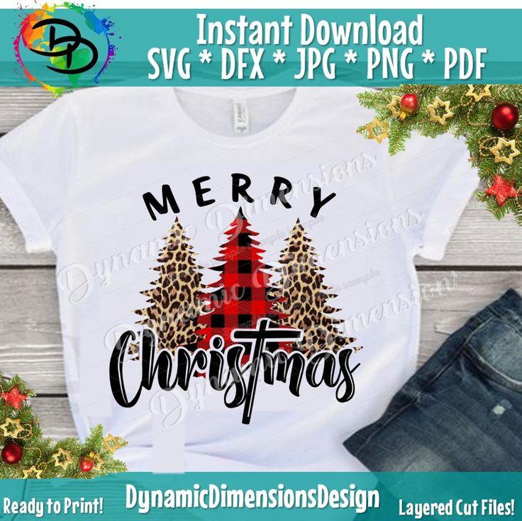 Merry Christmas svg Merry and Bright svg Christ mas svg
