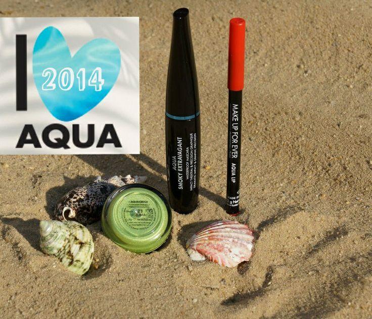 Make up for ever Aqua Summer collection 2014 Aqua Smoky