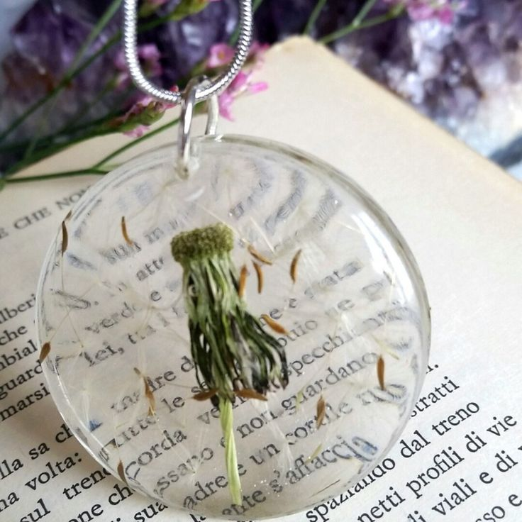 Wishes on the wind..Romantic necklace for Her