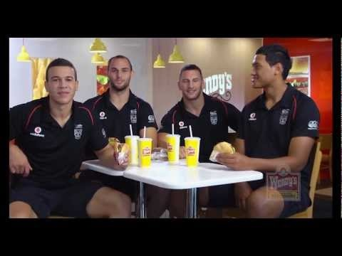 New Zealand Warriors Burger Advert...Its soft like you bro!