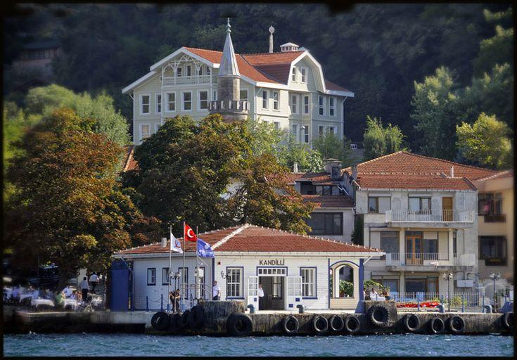 A pier on the Bosphorus - Kandilli, Istanbul