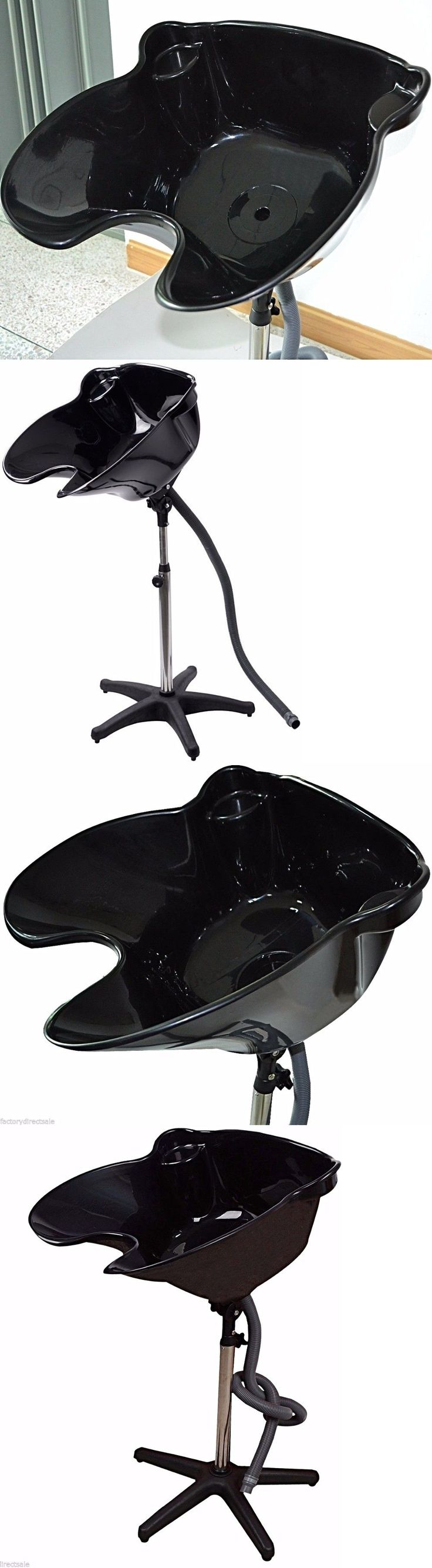 Laundry sink ebay - Backwash Units And Shampoo Bowls Portable Shampoo Sink Rinse Basin Hair Stylist Hairdresser Wash Bowl