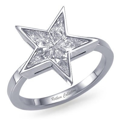 star eternity wedding diamond ring rings carat image white gold
