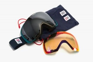 Topo & Giro Helmut & Goggle Collaboration • Selectism