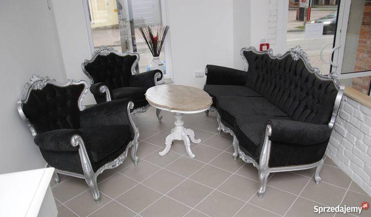 Francuskie meble salonowe #design #dekoracje #wystroj #diy