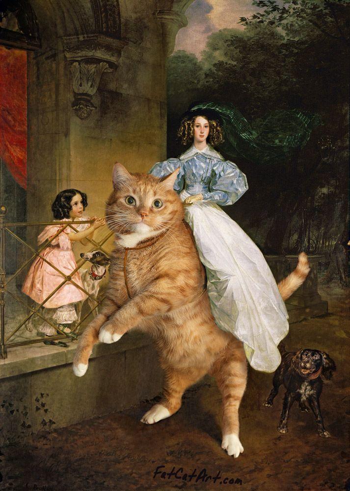 Karl Bryullov, A Rider on the Cat / Карл Брюллов, Всадница на Коте