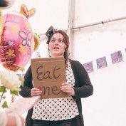 Alice in Wonderland Wedding - eat me...