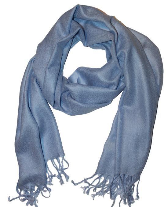 Cashmere Scarf Classic Blue