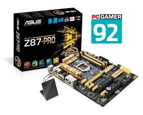 Asus Z87-PRO Intel Z87 4xDDR3 SLI CrossFireX Socket 1150 ATX fra CDON. Om denne nettbutikken: http://nettbutikknytt.no/cdon-com/