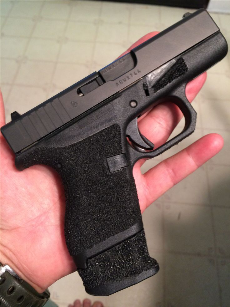Stippled Glock 42 Find our speedloader now!  www.raeind.com  or  http://www.amazon.com/shops/raeind