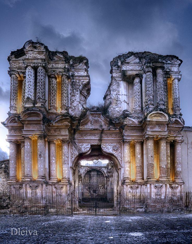 beautiful ruins Guatemala