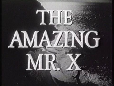 The Amazing Mr. X (1948) ~ Noir film directed by Bernard Vorhaus with cinematography by John Alton. The film tells the story of a phony spiritualist racket.