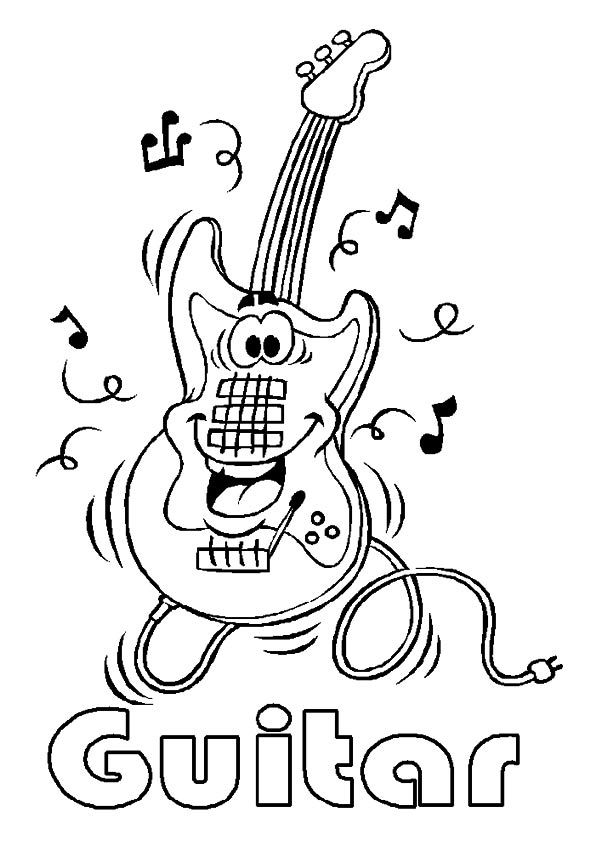 20 Wonderful Music Coloring Pages For Your Little Ones