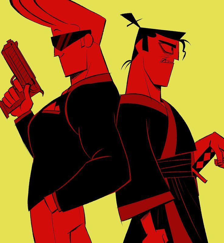 Johnny bravo and evil samurai jack