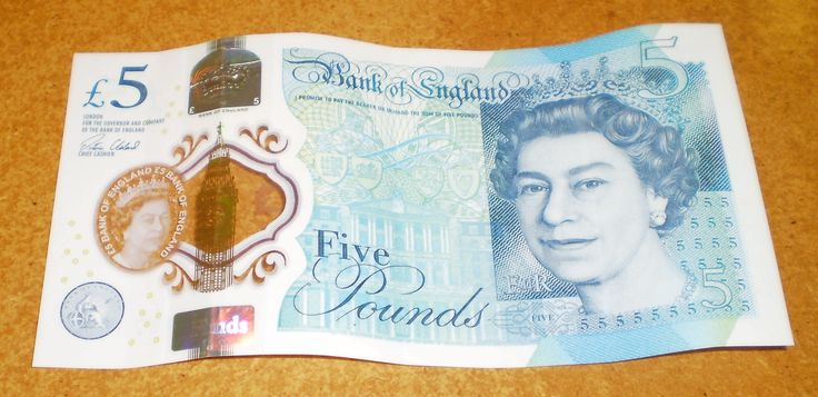 New Bank of England £5 Polymer Note AA01 487049 - AA01487049 Collectable Money