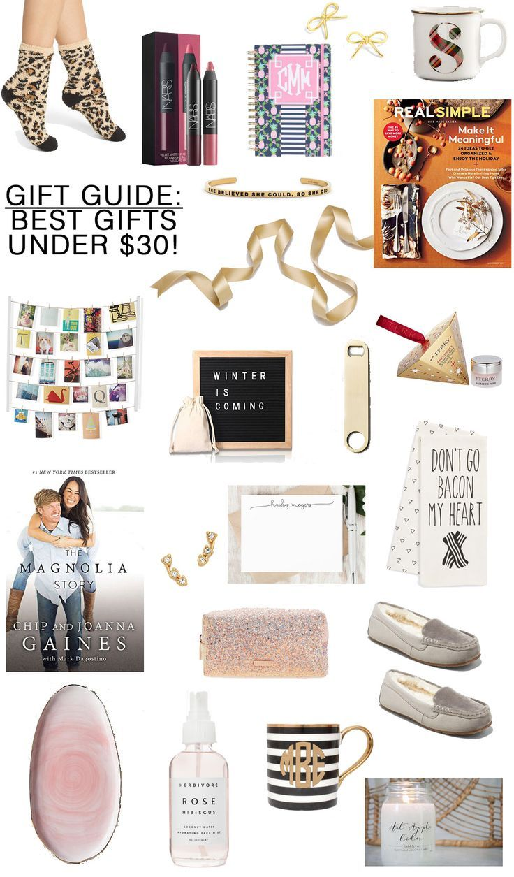 Christmas Gifts Under 30