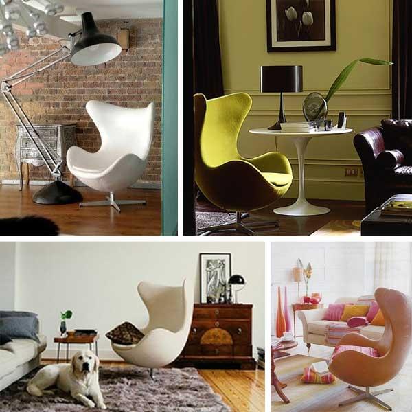Egg Chair Colour Montage