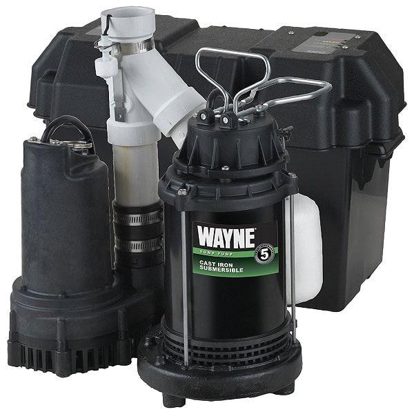 Best Backup Sump Pumps Consumer Reports Wayne Wss30v Image