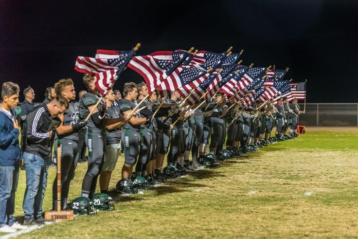 What these teen football players did to Old Glory will make you proud to be an American | Fox News