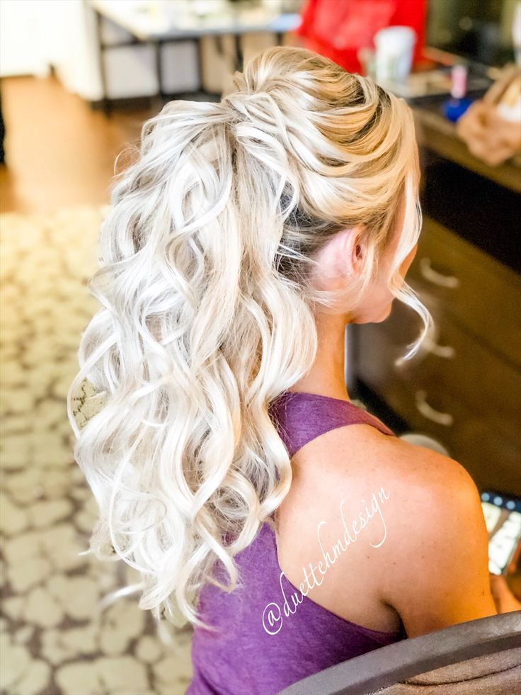 The perfect formal/ informal ponytail for any occasion. # ...