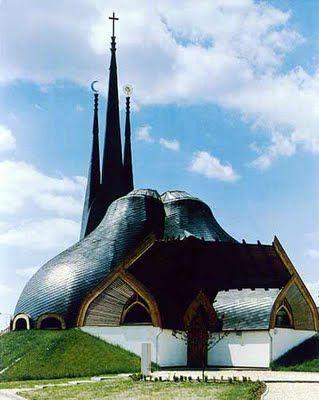 Paks Catholic Church. Amazing architecture.