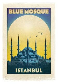 İstanbul - Sultan Ahmet Camii - Türkiye