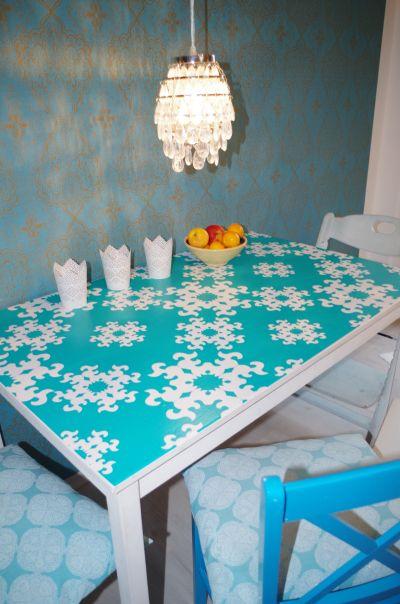 Folie von Creatisto - mein Tisch wird schöner!