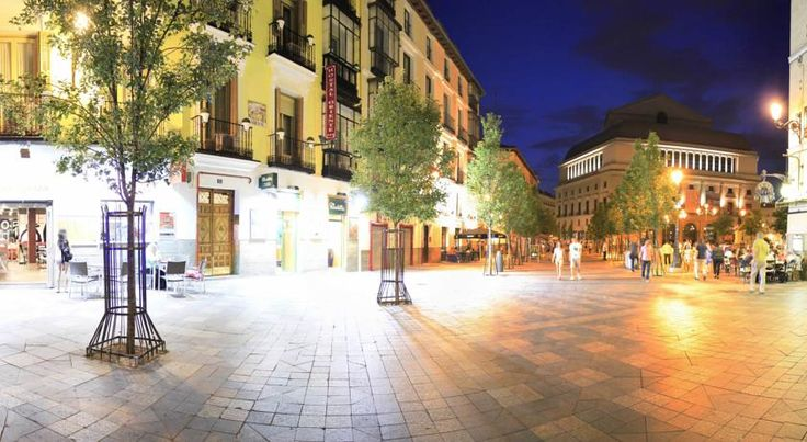 Hostal Oriente Madrid This hotel is situated in the centre of Madrid and near renowned sites such as the Teatro Real and the Cathedral de la Almudena. Rooms have private bathrooms and free Wi-Fi.  This is the ideal location to visit Madrid and get to know its every charm.