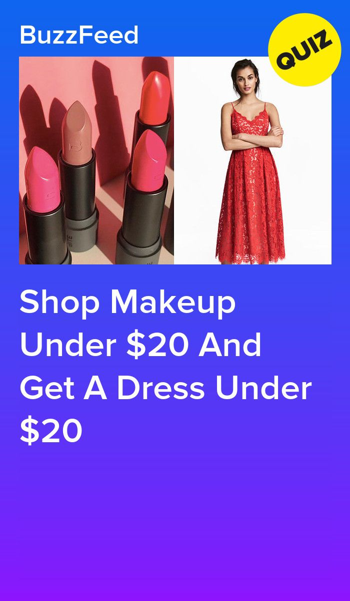Shop Makeup Under $20 And Get A Dress Under $20 | Quizzes | Disney
