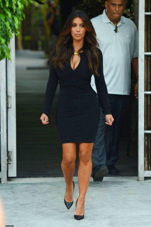 Kim Kardashian... God I need to get my dress tailored