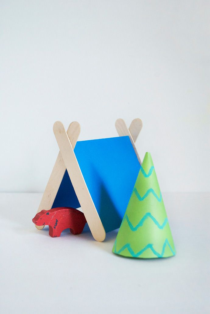From Popsicles To Craft Projects Popsicles Tent And