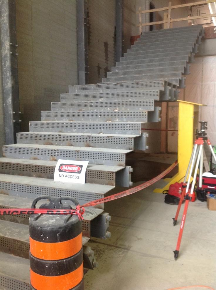 Athletic Recreation Centre Build as of April 29 2013. #Construction #HamOnt