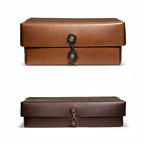 Coach Bleecker Leather Boxes