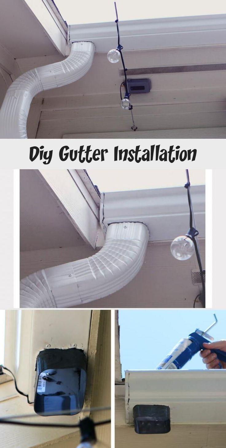 Diy gutter installation how to install gutters diy