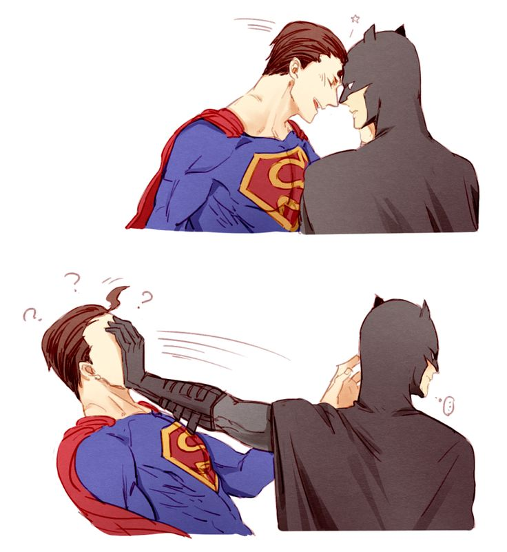 DCU - Clark Kent x Bruce Wayne - SuperBat  <- i don't ship them...i really, really don't...i swear...