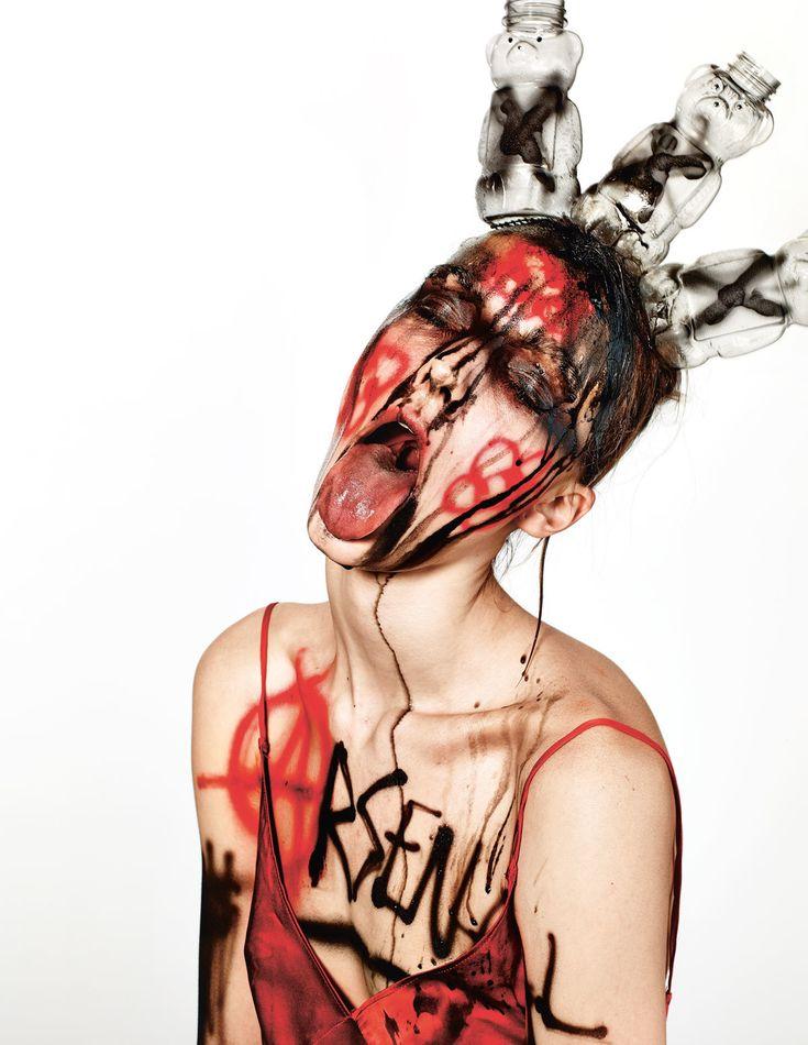 Irina Liss Make-up Isamaya Ffrench Photography Richard Burbridge