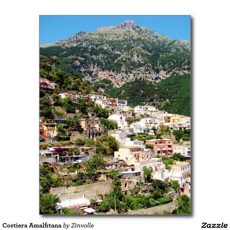 Costiera Amalfitana Postcard