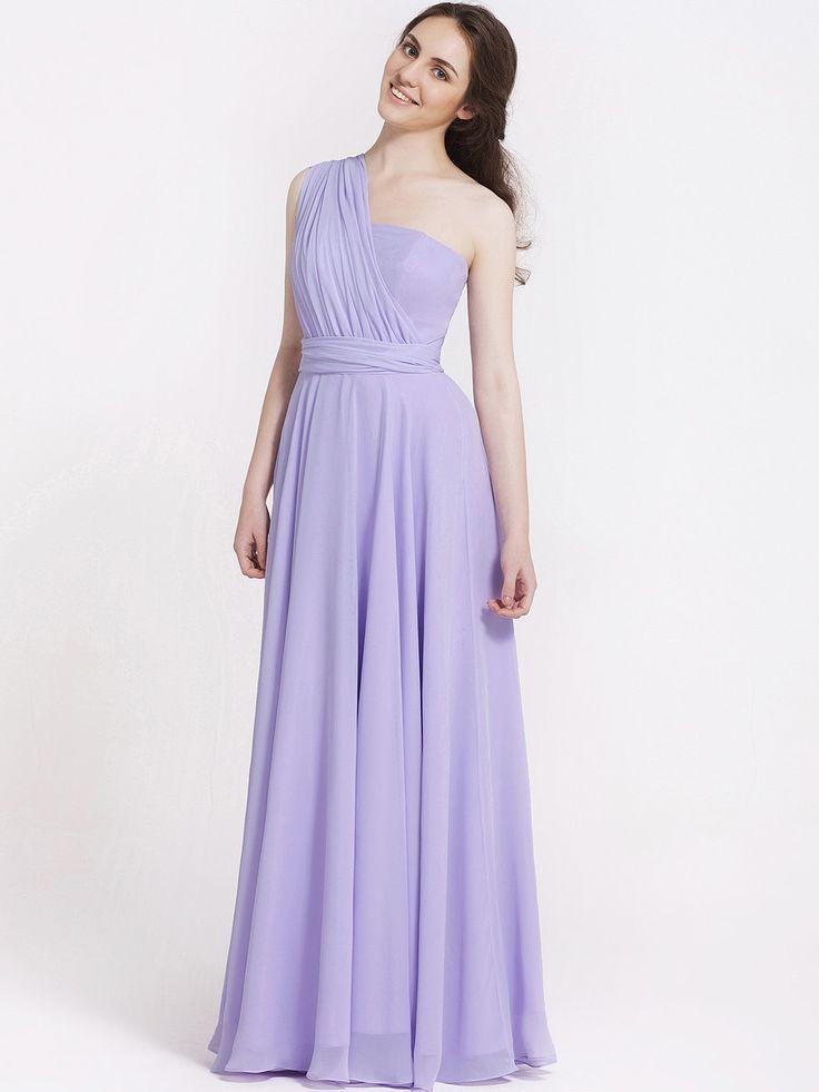 Multi-Wear Wrap Bridesmaid Dress