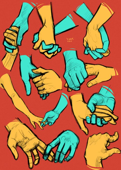 there is a point in drawing hands when suddenly they all start to look like really weird malformed alien cousins of headcrabs. i mean what