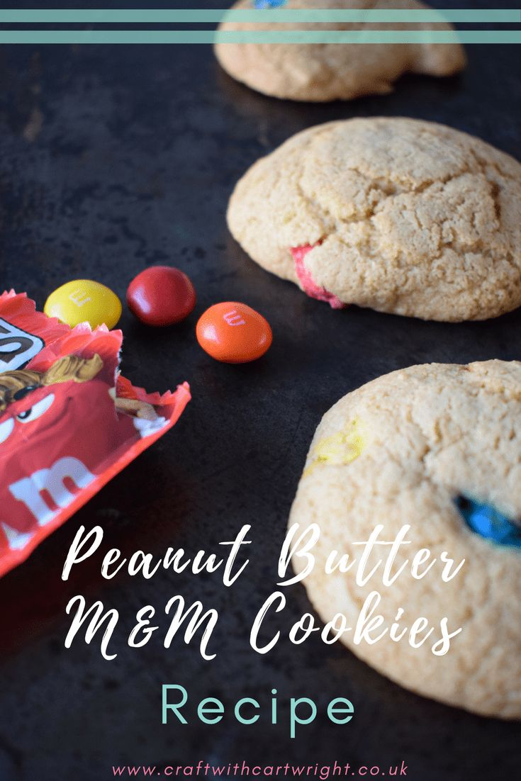 I love cookies. They are great to enjoy with a cup of tea, grab on the go or take as a tasty snack in a lunch box. Over the years I have tried and baked many different cookie recipes. These M&M Peanut Butter cookies have got to be up in my top ten. A fab combination of sweet and salty.