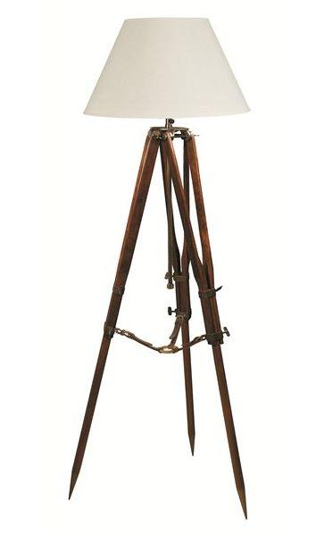 Campaign Tripod Lamp - £409.00 - Hicks and Hicks